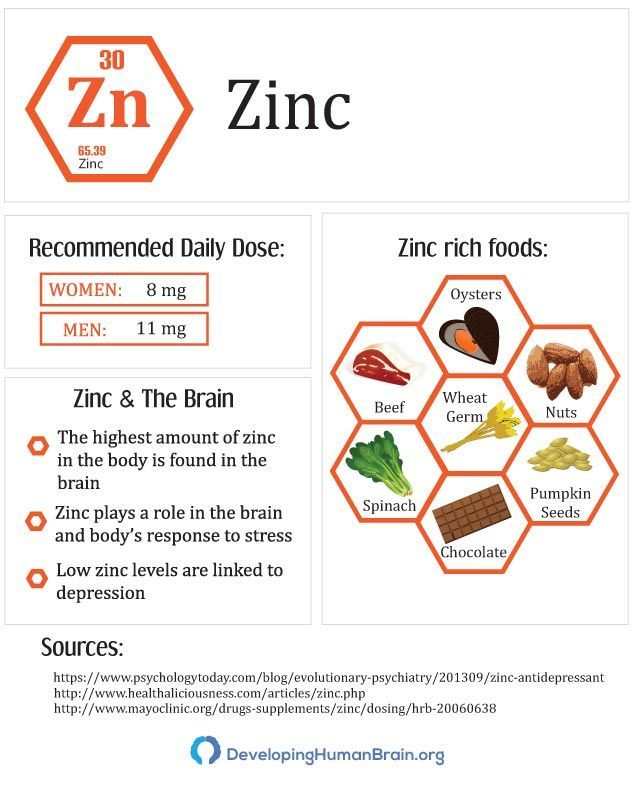 17 Essential Vitamins and Minerals for Brain Function ...