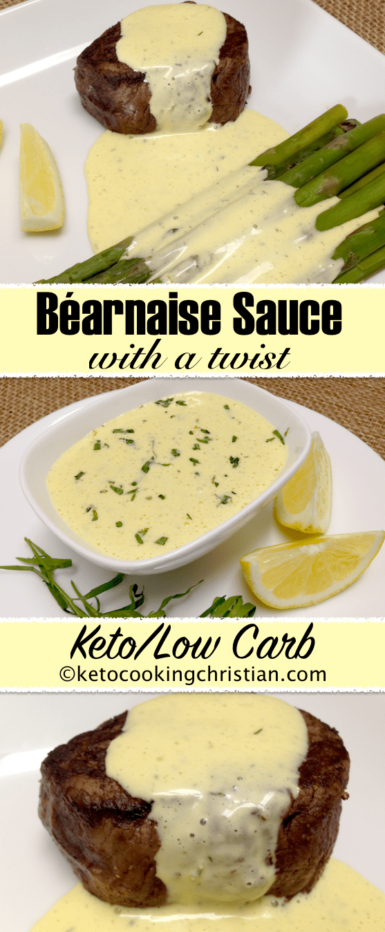 Béarnaise Sauce - Keto and Low Carb #hollandaisesauce