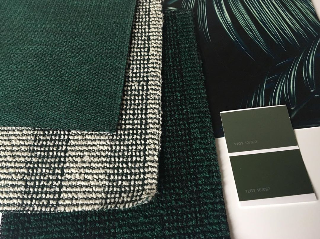Forest Green My Favourite Colour How Lovely Does This Scheme Go Together Beautiful Fabrics A Gorgeous Print From Charlottejade Design Whats Your Favourite