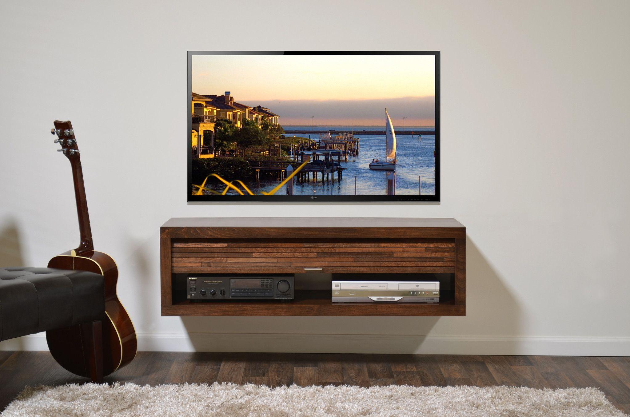 wall mounted media stand eco geo mocha ob corner tv stand ideas rh pinterest at