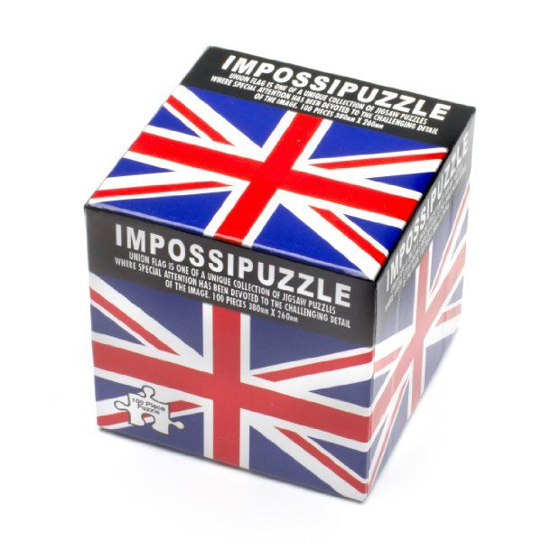 Wonderful Impossipuzzle Cubes Union Jack:Amazon:Toys U0026 Games