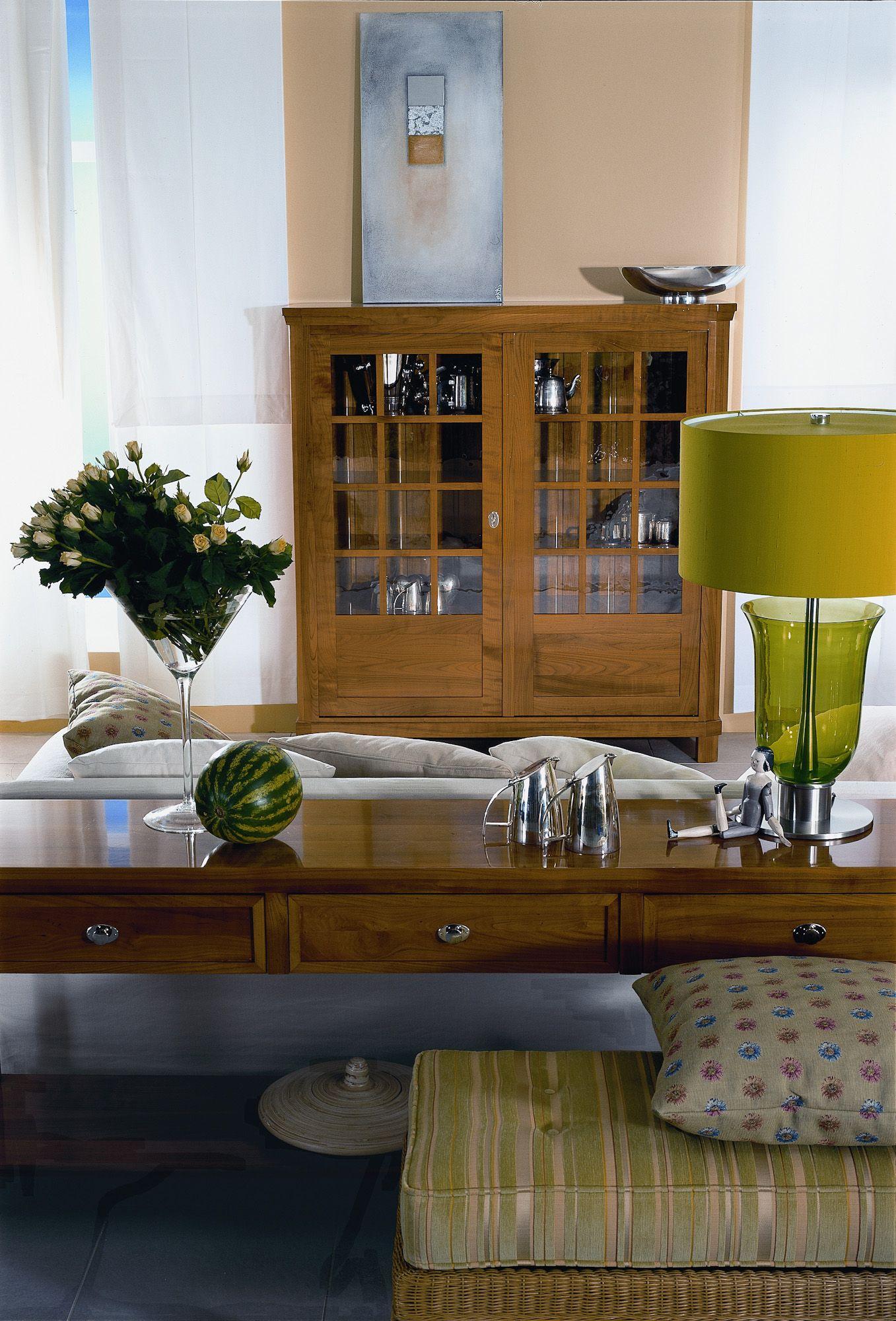 Solitärschrank | Eiche Massiv | Holz | Antike Optik   Bei Möbel Morschett