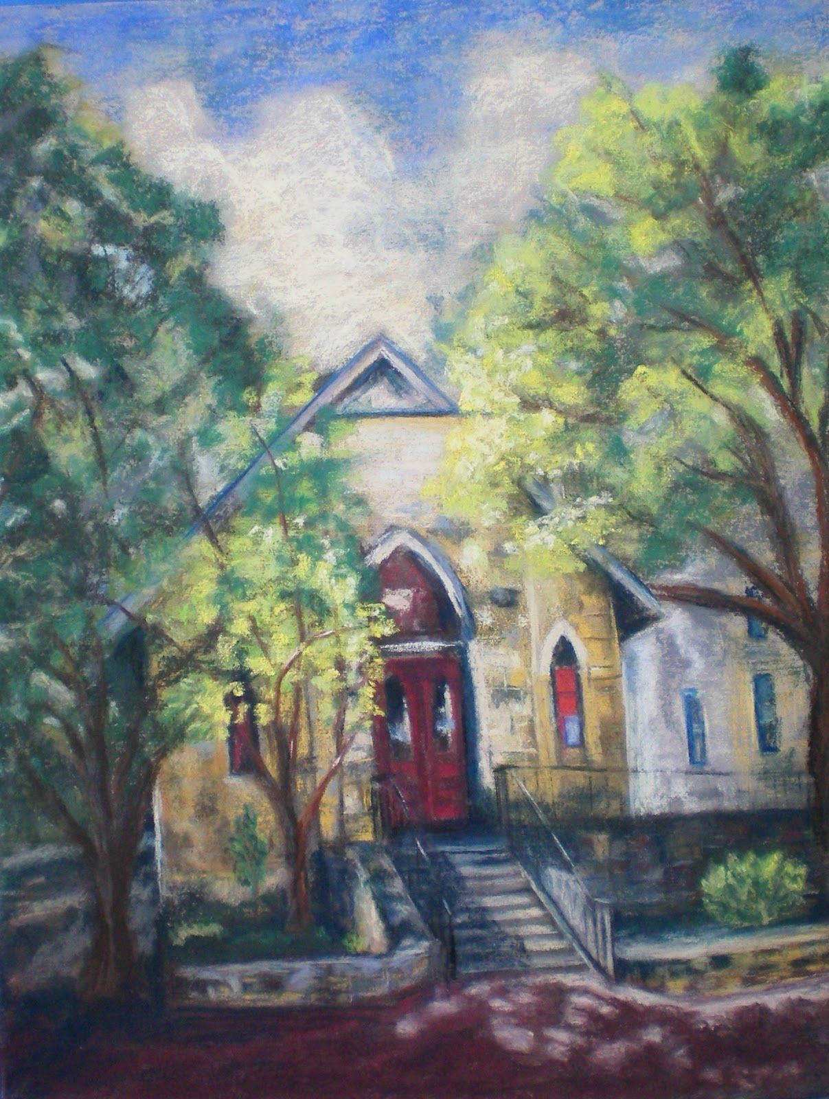 Boerne Community Theatre Art Showing Pin by