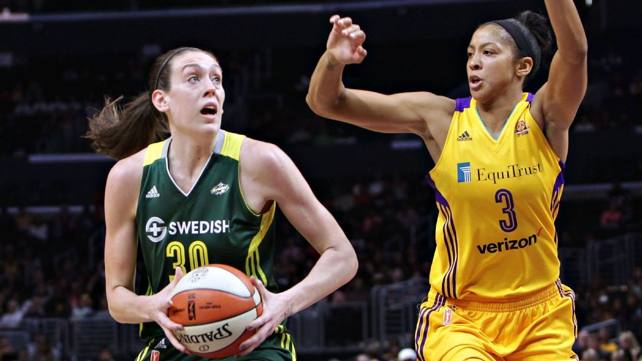 Breanna Stewart, WNBA raise awareness, money for Orlando