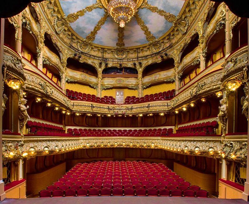 Salle Athenee La Plus Petite Salle Lyrique De France Paris 9