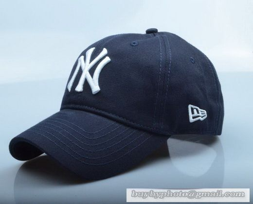 New Era MLB New York Yankees Baseball Cap Breathable Cap Curved visor Hat  Classic Retro Navy White 62cbf58fded