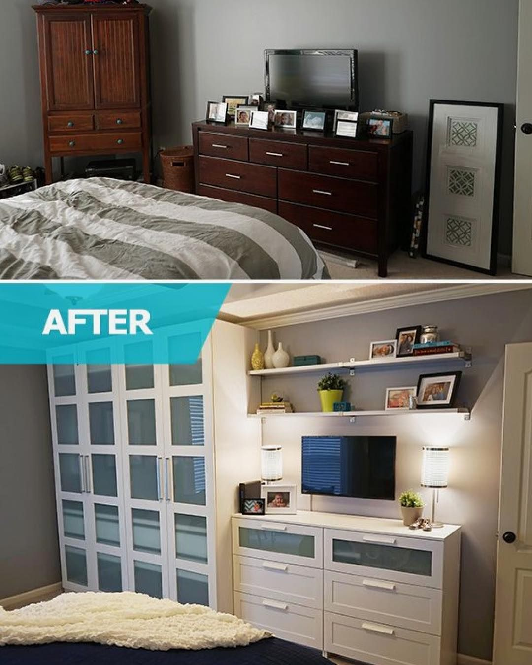 Bedrooms This is such an awesome idea
