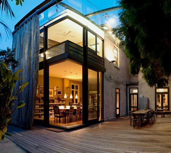 The Glass Loggia House by Allen Jack + Cottier in Sydney