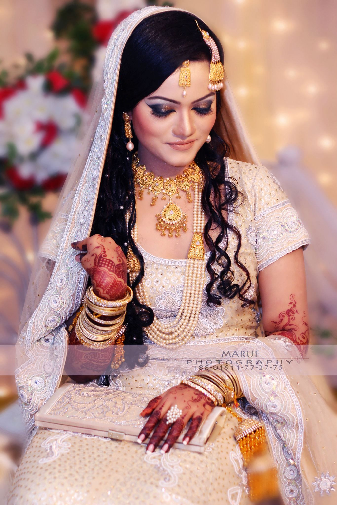 indian wedding hairstyle gallery%0A Maruf photography    Bengali BrideIndian