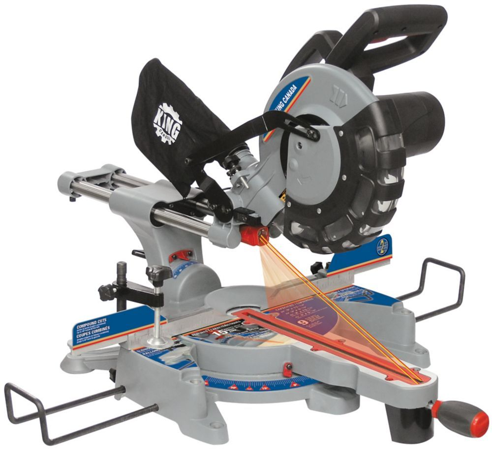 10 Inch Sliding Compound Miter Saw With Dual Laser In 2019 Sliding Compound Miter Saw Miter Saw Table Saw