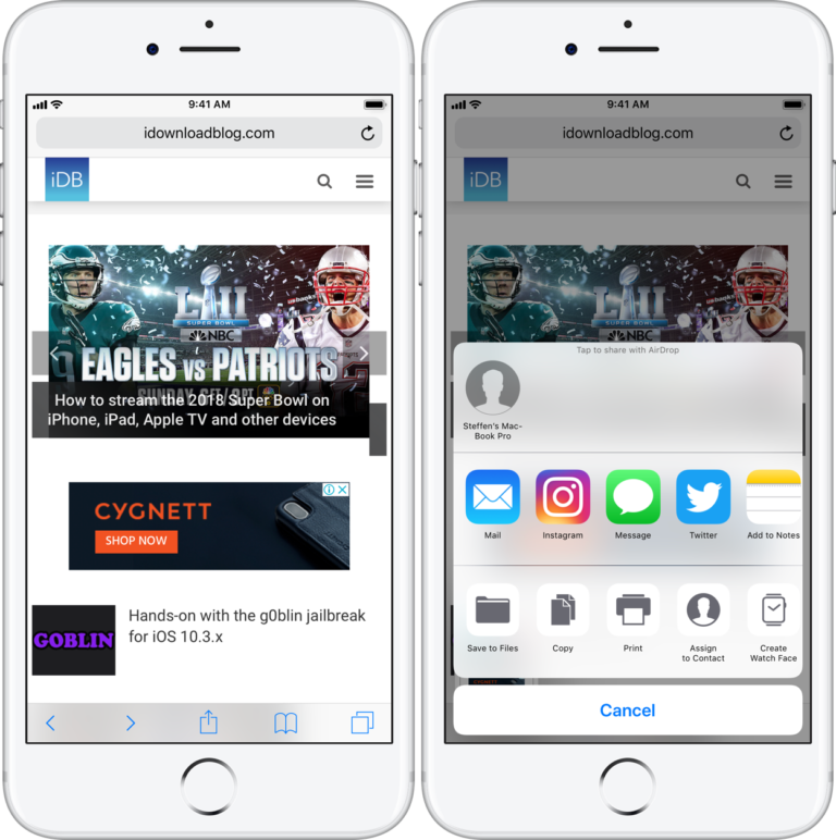 How to share screen shots faster on iOS Technology News