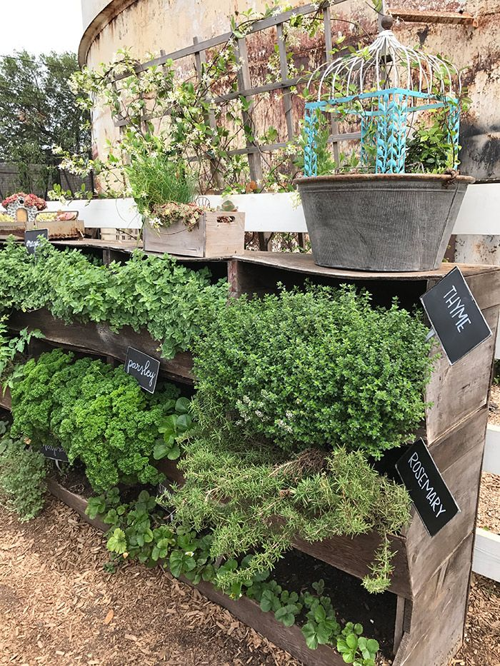 Garden Ideas From Magnolia Silos Fixer Upper Pinterest