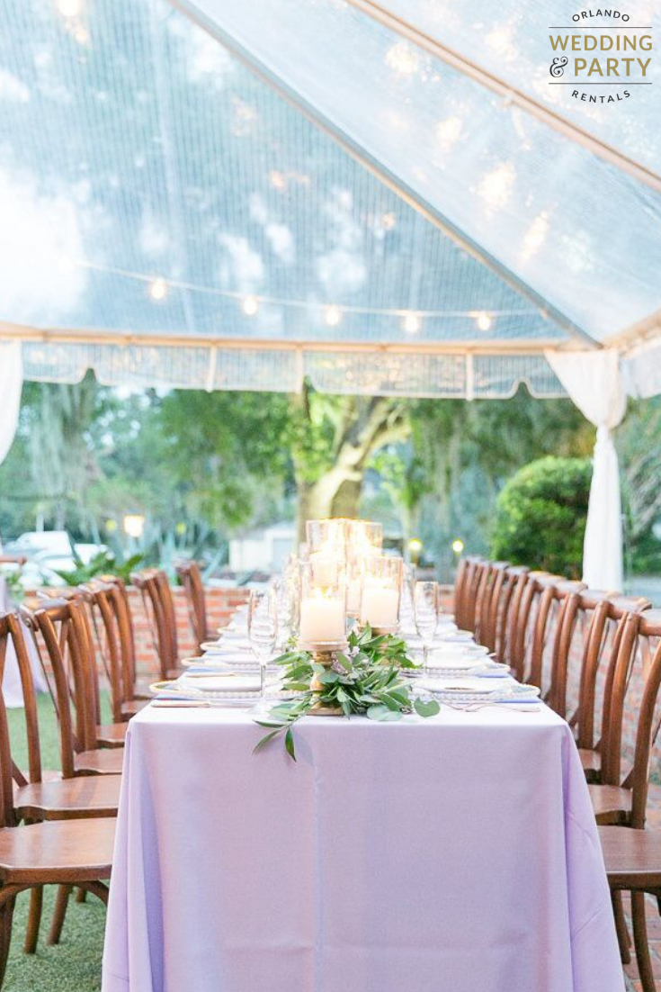 clear tents in 2019 orlando wedding and party rentals pinterest rh pinterest com