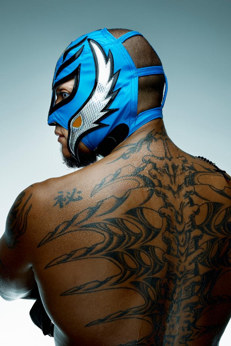 Rey Mysterio Tattoo Rey Mysterio Tattoos Wrestling Superstars Wrestling Wwe