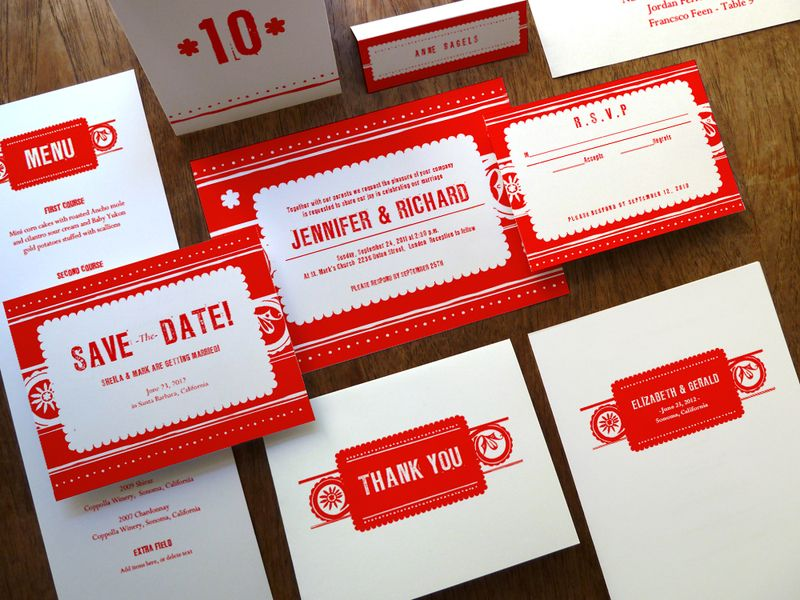 wedding stickers for invitations%0A Papelo Printable Wedding Set