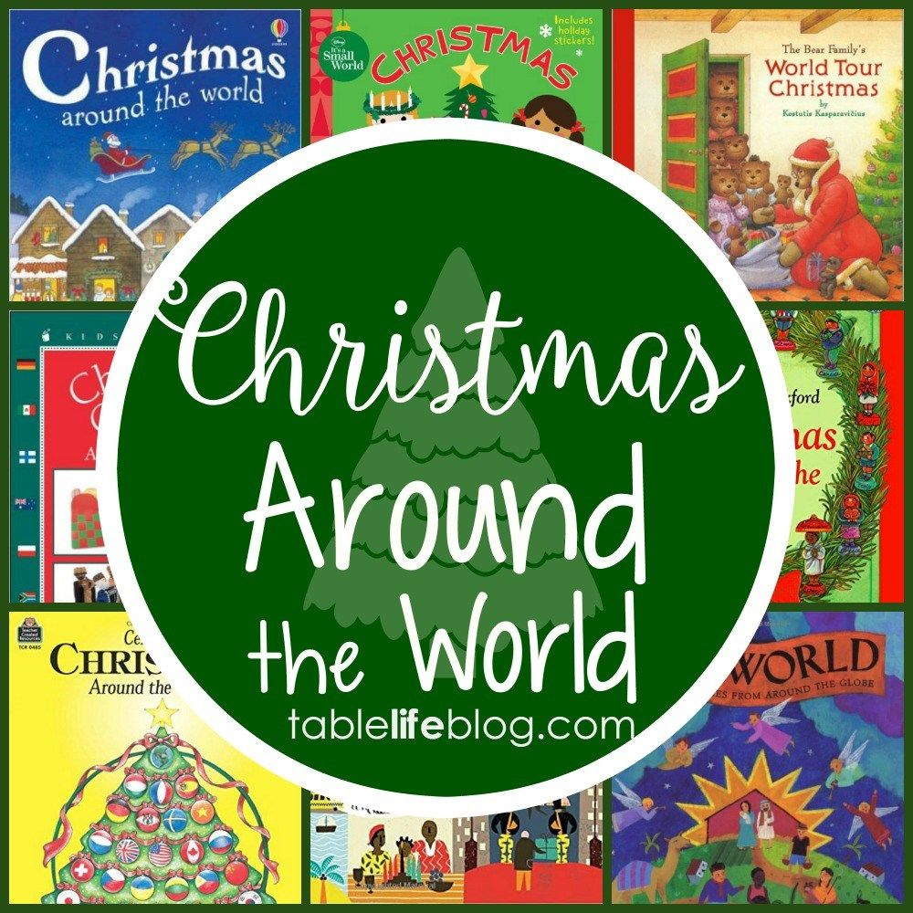 Christmas Around the World in 100 Books Christmas world