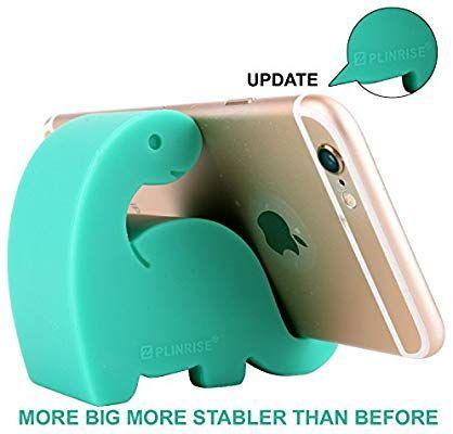 amazon com plinrise animal desk phone stand update dinosaur stripe rh in pinterest com