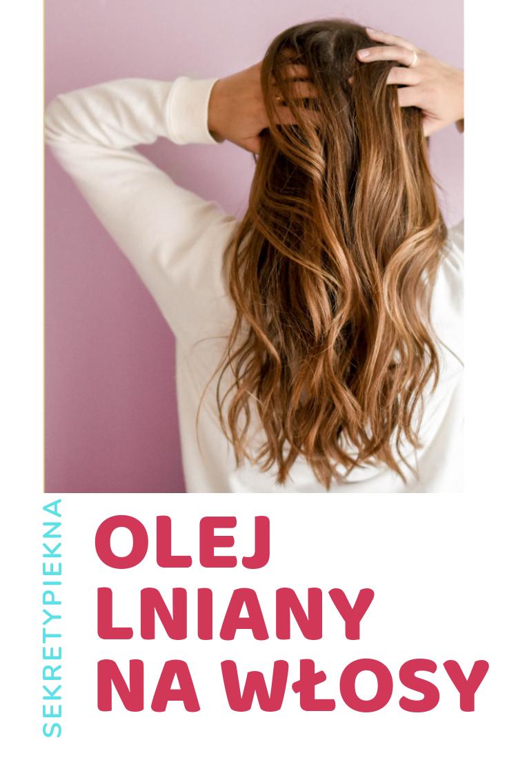 olej lniany na wypadanie włosów