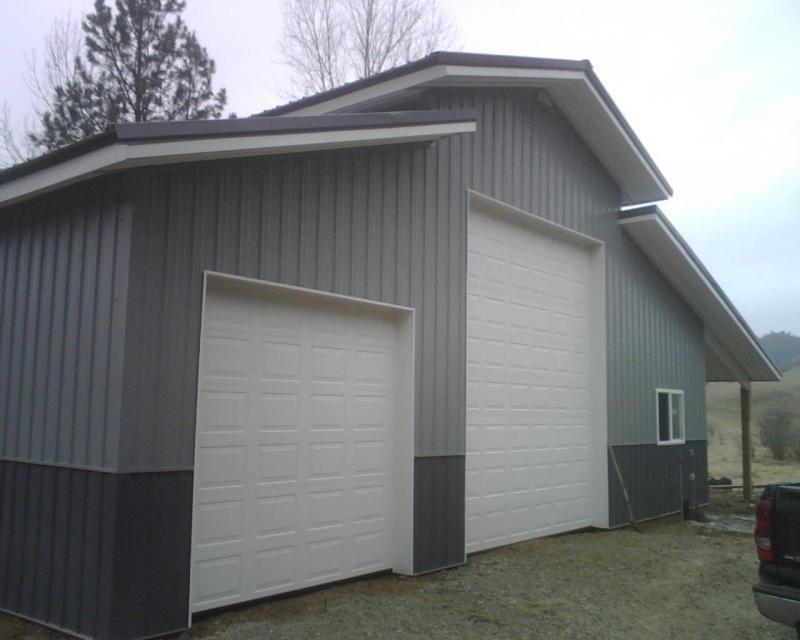Pole Barn Colors Old Town Grey Slate Grey Weynes Coat Winter