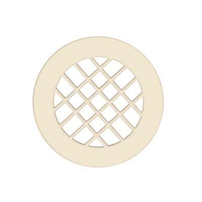 Swan Metal Shower Floor Drain Cover In Bone Ivory Shower Floor