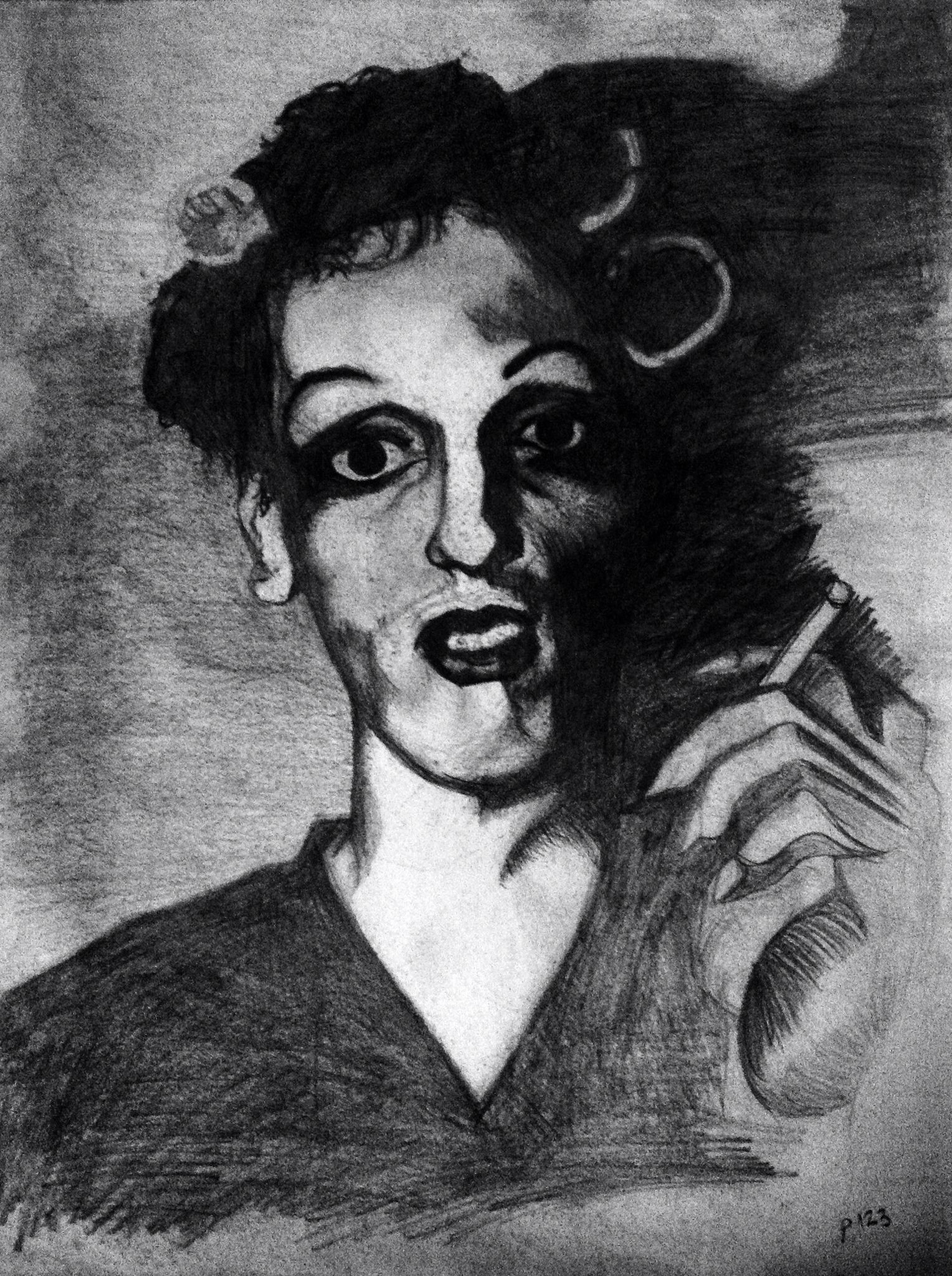 From A Photo Forgot The Artist S Name Charcoal I Think Drawing At Home Artist Names Drawings Artist