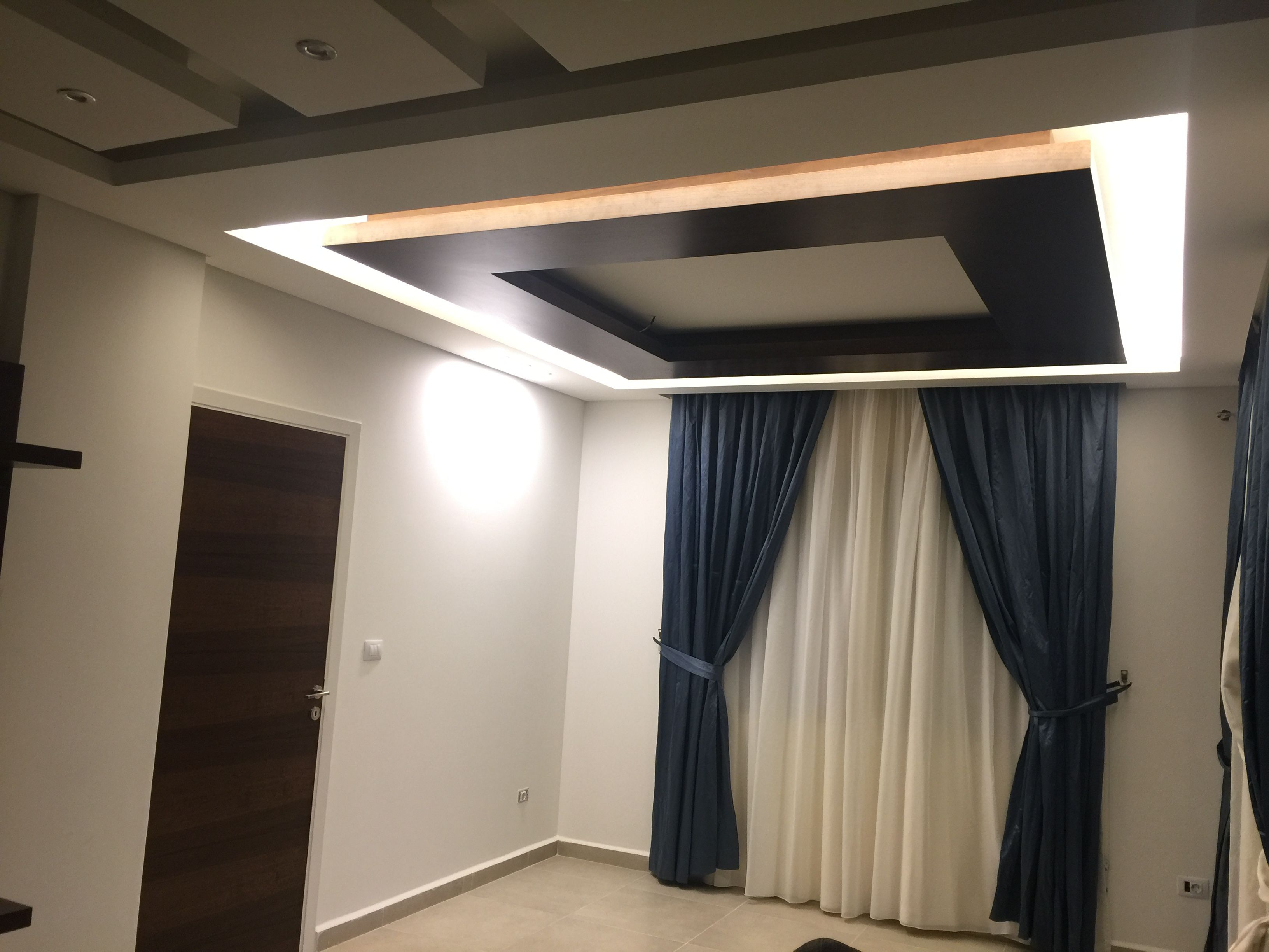 HZ Design dining room ceiling wood and gypsum board design ...