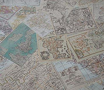 World map fabric linen print by the yard review fabrics world map fabric linen print by the yard review gumiabroncs Images
