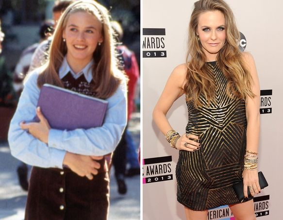 Alicia Silverstone Looks HOT at the American Music Awards