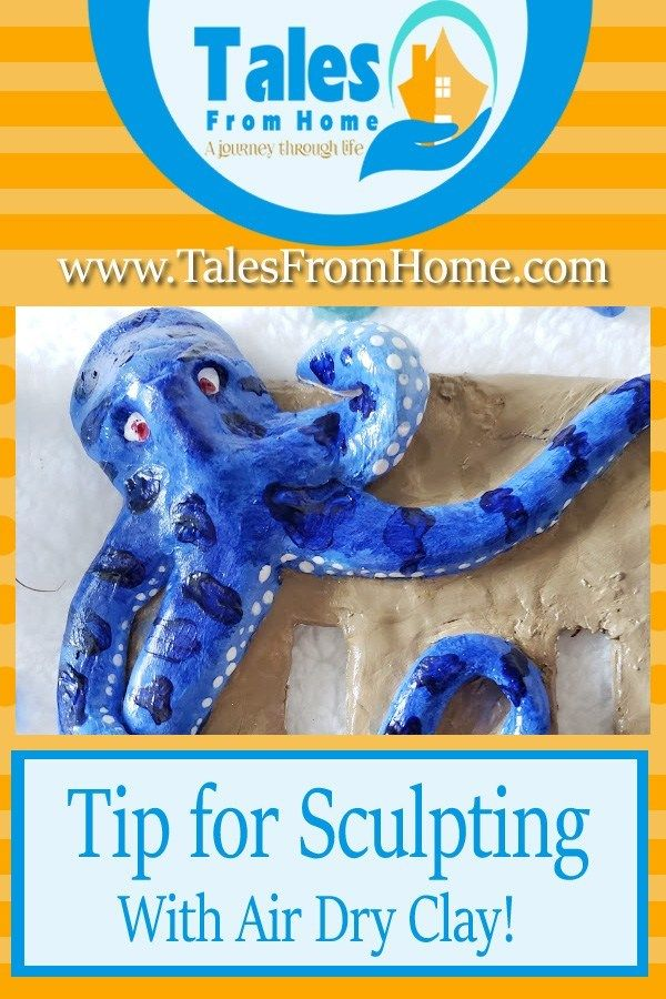 Tips for Sculpting with Air Dry Clay Air dry clay, Dry