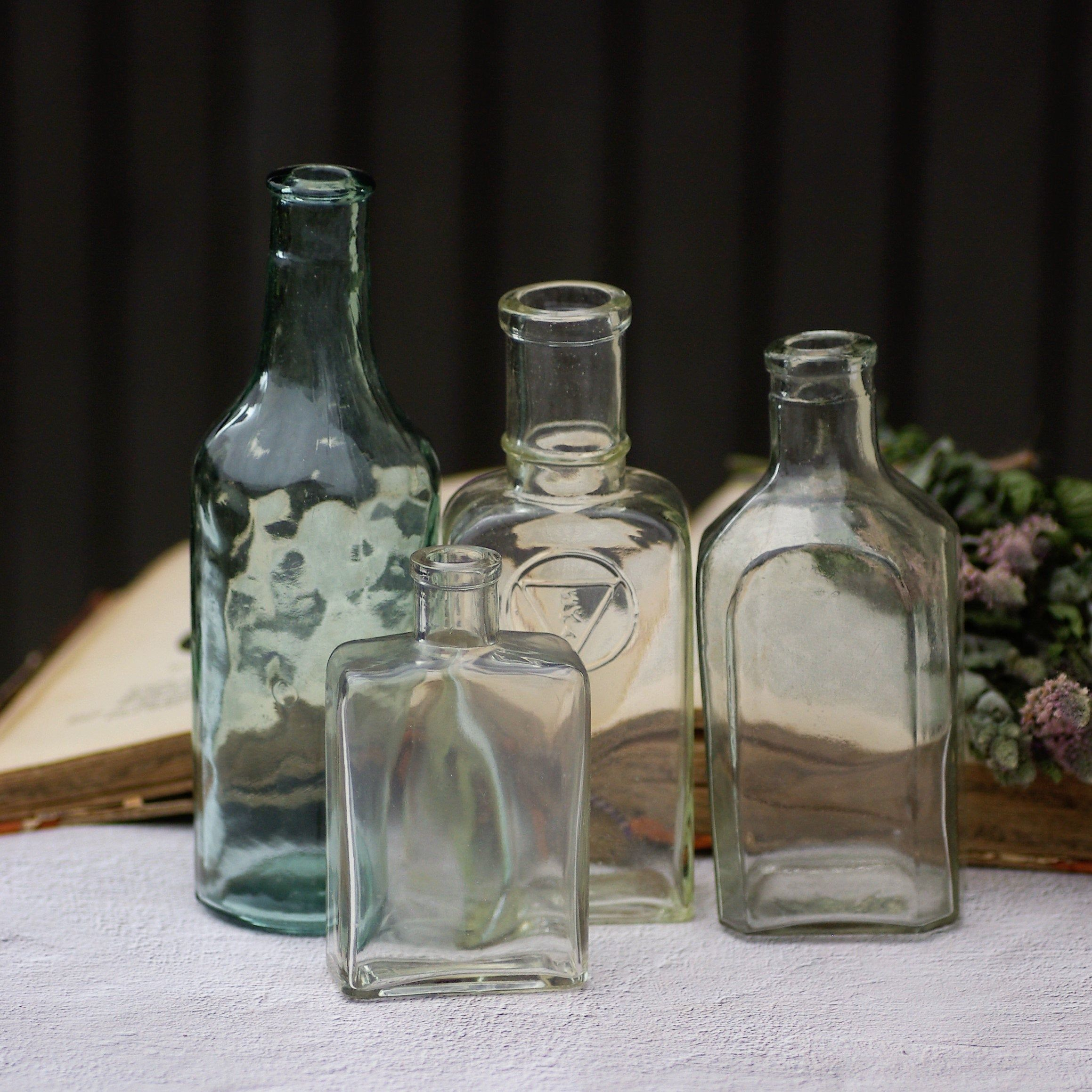 Potion Bottles Set Gl Apothecary