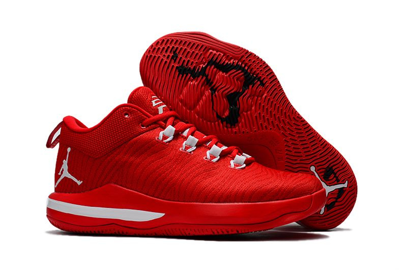low priced 496f8 8f6ec Cheap Nike Air Jordan CP3 X Red White