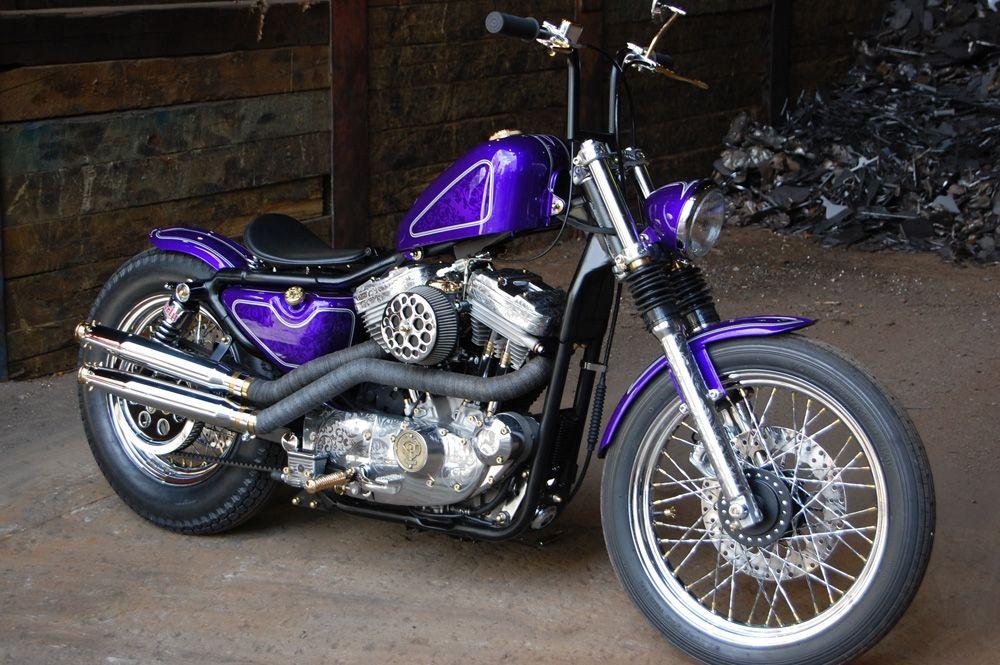 purple sportster   Motorcycles   Harley bikes, Motorcycle, Hd sportster