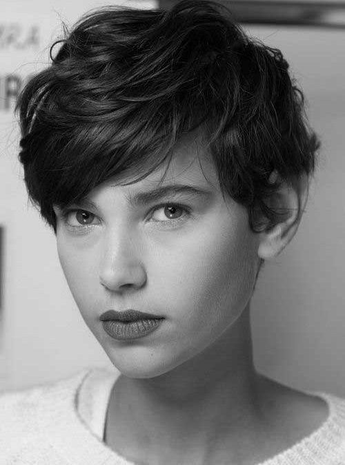 easy to style short haircuts for thick hair and unique tousled pixie cut hair cuts pixie 3202 | 0af22671f417bf0d7983a4451fe64405