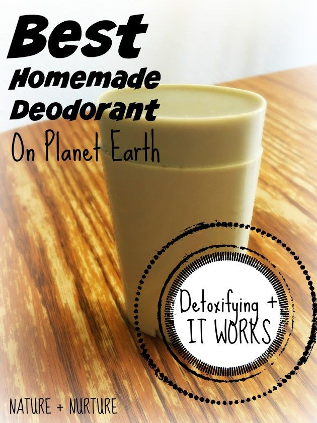 Homemade Deodorant That Works