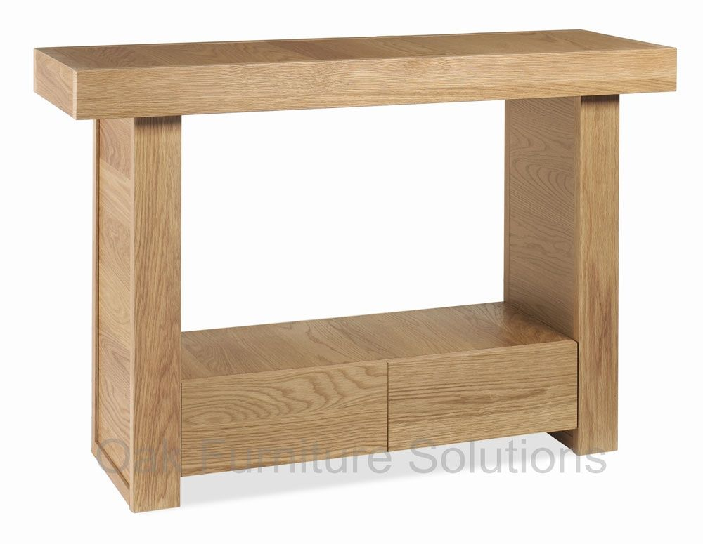 Narrow Oak Console Table Modern Coffee Tables and Accent Tables