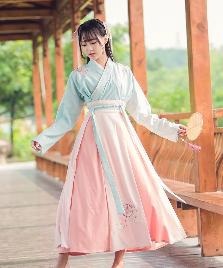 89bee4e59 2017 summer traditional folk dance costumes hanfu costume han dynasty man clothes  ancient chinese clothing women tang traje chin