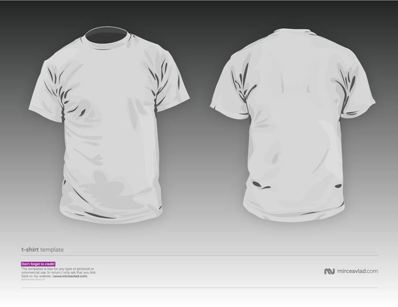 Download 100 T Shirt Templates Vectors Psd Mockups Free Downloads Shirt Template Shirt Designs Tshirt Designs