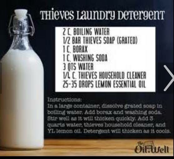 Pin By Kelly Mackay On Essential Oils Homemade Laundry Detergent