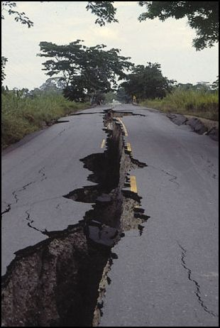 Open w/ Melody) The earth shakes and a large crack appears in the ...