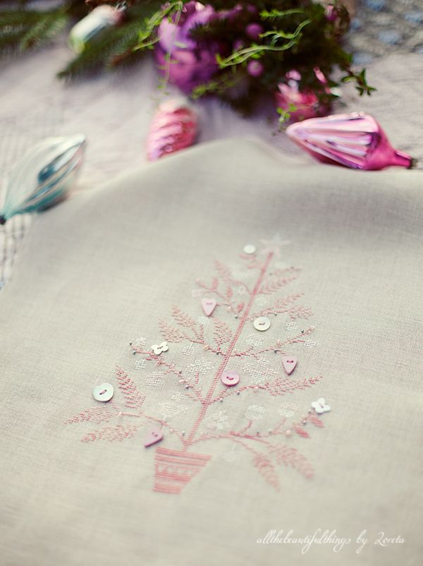embroidery and ornaments