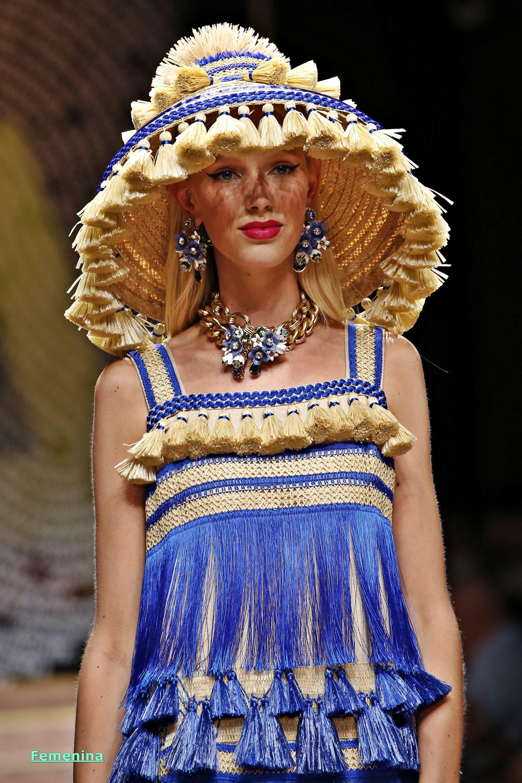7690e33122 Dolce & Gabbana Spring/Summer 2019 -Details | فسااااتين in 2019 ...