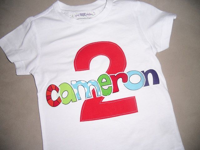 Toddler Boys 2nd Second Birthday Personalized RED 2 Shirt Lively Letters Party Red Two Carnival Yo Gabba