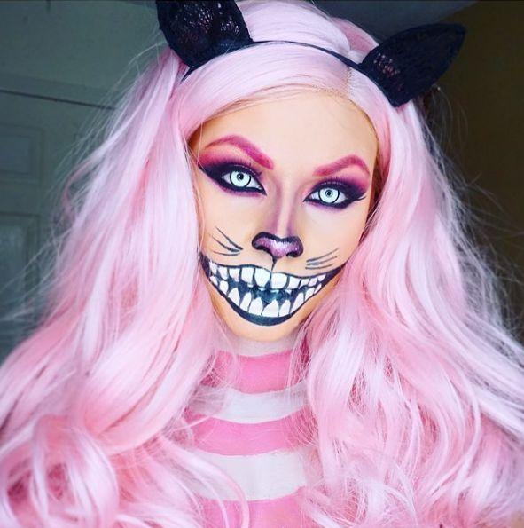 Halloween Schminken Ohne Kostum.1000 Ideas About Easy Halloween Makeup On Pinterest Halloween Grinsekatze Kostum Halloween Makeup Halloween Schminktipps