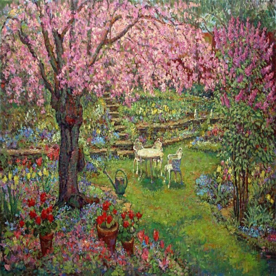 "Leif Nilsson ""Backyard cherry tree"""