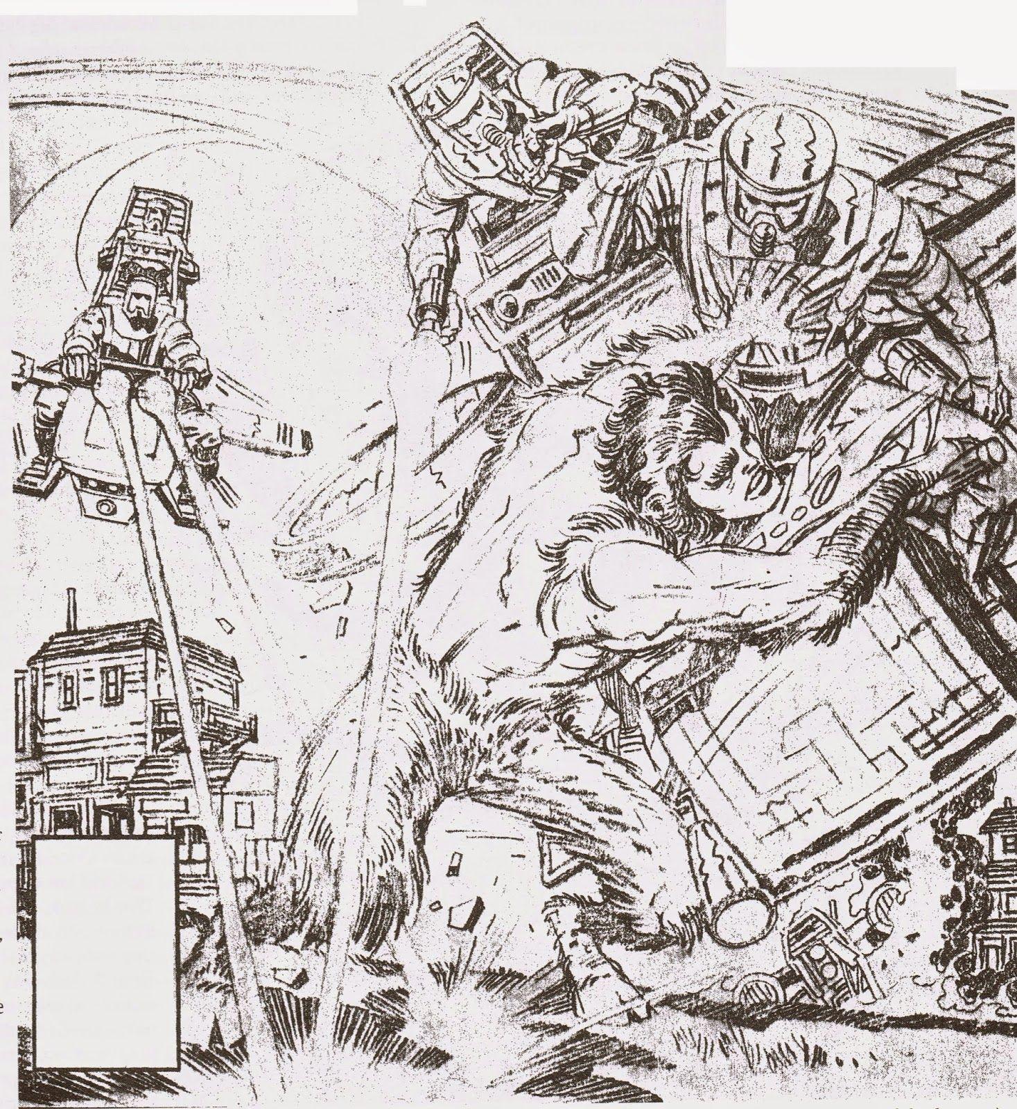 Cap'n's Comics: Woodgod by Jack Kirby