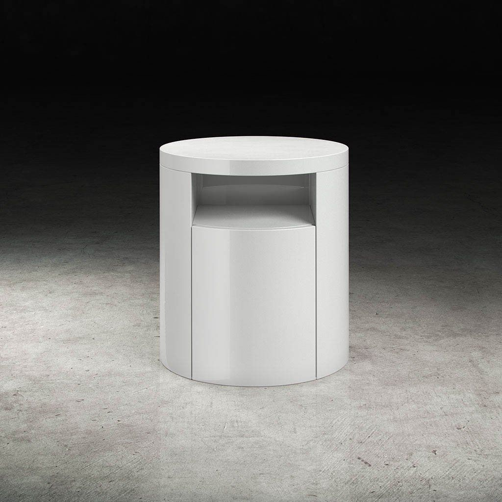 mulberry nightstand white lacquer nice niiiice nightstands rh pinterest com