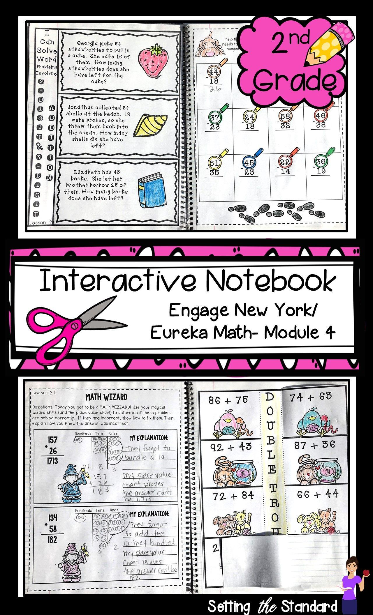 Math Interactive Notebook Grade 2 Module 4