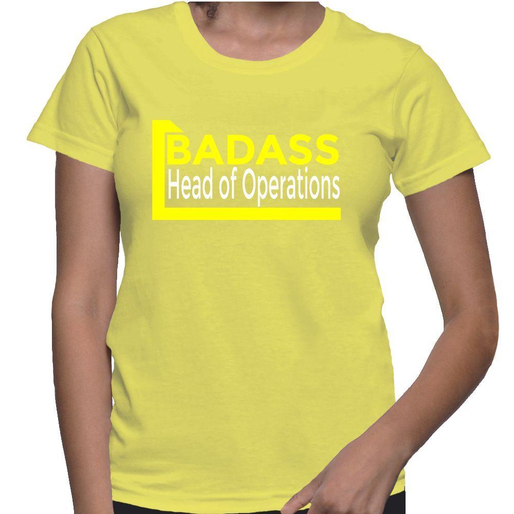 Badass Head Of Operations T-Shirt