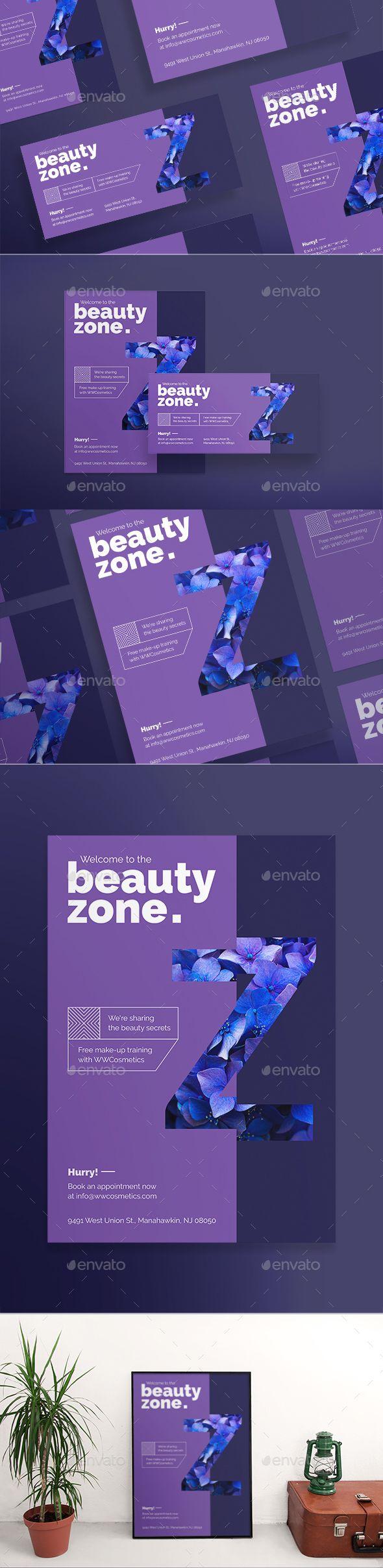 Beauty Zone Flyers Flyer template