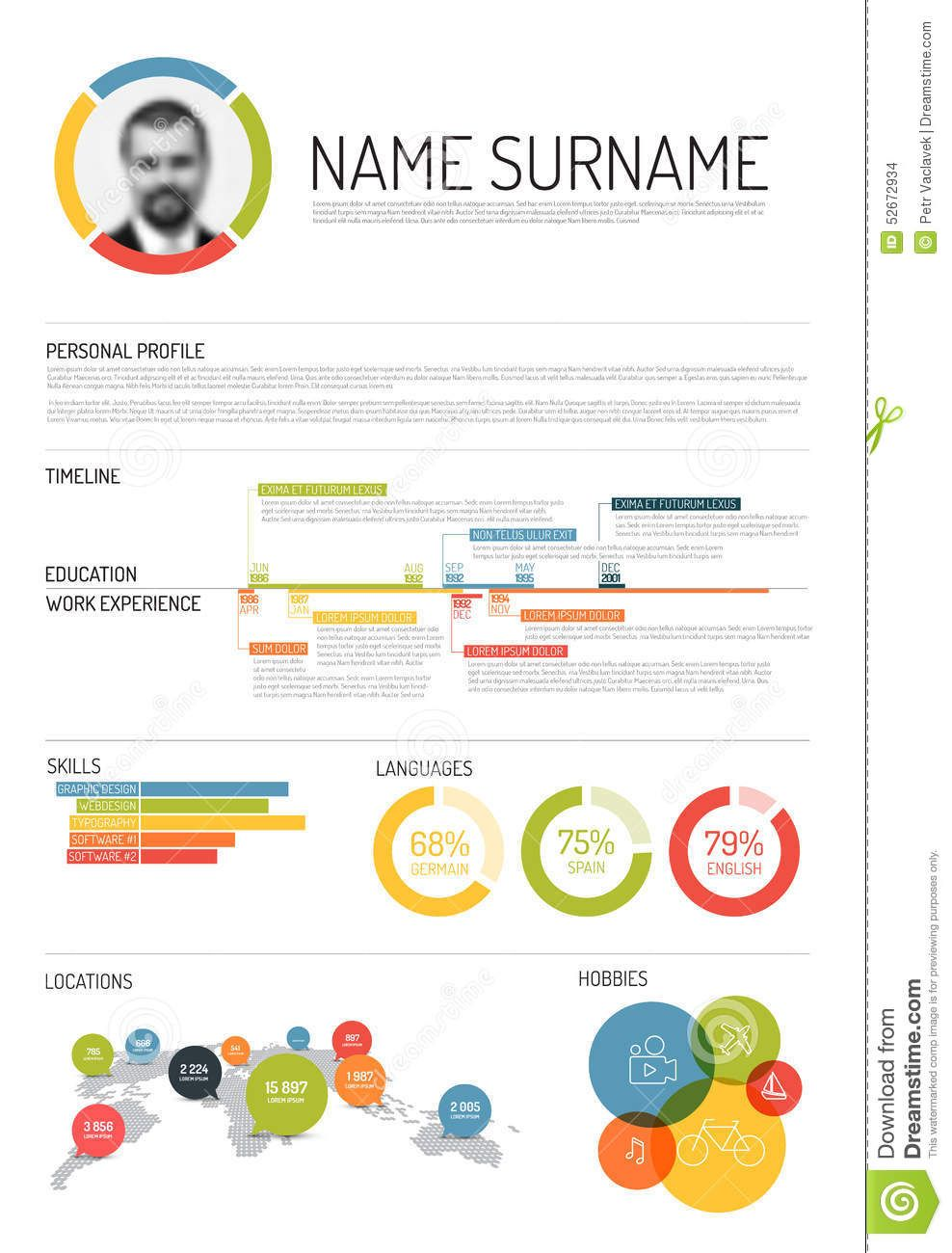 original cv    resume template